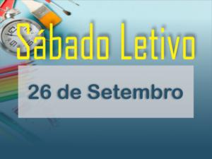 Sábado Letivo 26 de Setembro 2020