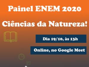 Painel ENEM 2020 – Ciências da Natureza