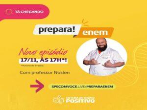 Prepara ENEM 17/11 – 17horas