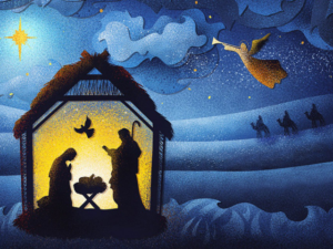 Feliz e Abençoado Natal – Família Berlaar