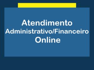 Atendimento Adm/Financeiro- Online