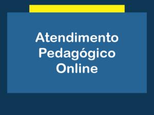 Atendimento Pedagógico Online