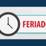 Feriado Tiradentes – 21/04/2021
