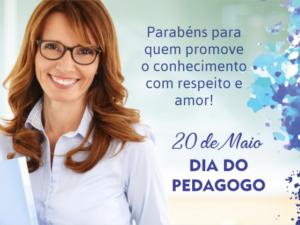 20 de Maio – Dia do Pedagogo